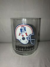NFL New England Patriots Vintage Drinking Glass Cup