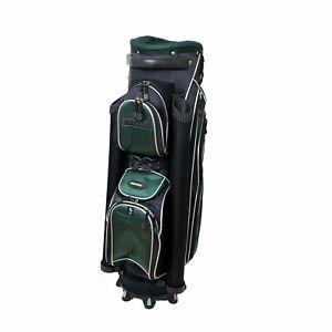 Naples Bay Ocean Palms Deluxe Cart Golf Bag HUNTER GREEN