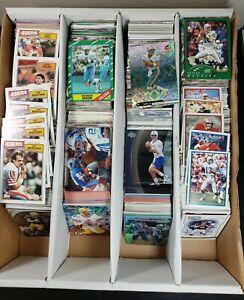 2,400 Football ALL HOF STARS Favre Rice Manning 90s Big Lot Cards Rare Dealer 5