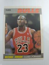 1987-88 Fleer Basketball Complete Set 1-132 . michael jordan  magic Bird nice!!!