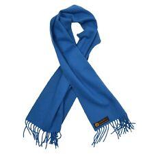 LORO PIANA Schal Scarf 100% Kaschmir Cashmere Made in Italy Blau Blue Winter