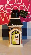 Bath & Body Works Halloween Haunted House Soap Lotion Dispenser Holder Ceramic