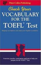 Check Your Vocabulary for the TOEFL Test-ExLibrary