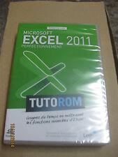 TUTOROM FORMATION Excel 2011 : Perfectionnement sur DVD NEUF