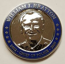 LAPD Los Angles Police Department William J. Bratton Chief Of Police 2002 - 2009