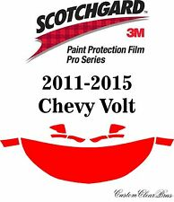 3M Scotchgard Paint Protection Film Pro Series Hood Kit 2011 2015 Chevy Volt