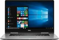 "New Dell 2-in-1 15.6"" Touch-Screen Laptop i5-8250u 8GB RAM 2TB HDD Win10 Gray"