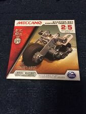 Meccano Maker Systems Starter Set Motorcycle