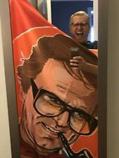Cloe Ashton Licensed  Charles Nelson Reilly Shower Curtain Match Game Gay Queen