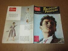 CHERIE ROTO-FILM N°7 OTTOBRE 1954 CINEROMANZO BALOCCHI E PROFUMI R.RISSO T.LESS