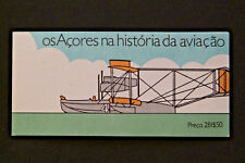 AZORES SEA PLANES 1987 STAMP BOOKLET MNH