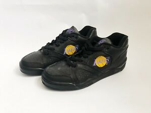 vintage converse ox los angeles lakers shoes sneakers mens size 8.5 NIB 90s NOS