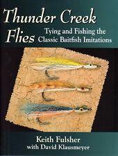 FULSHER FLYTYING FISHING BOOK THUNDER CREEK BAITFISH IMITATIONS hardback BARGAIN