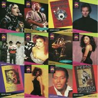 Misc - Musicards 1991 Pro Set Music Pop Rock Single Cards - Various Artists