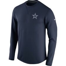 Dallas Cowboys 2017 Nike Sideline Modern Crew Neck Navy Sweatshirt Adult Medium
