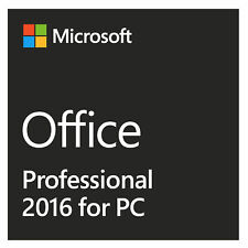 MS OFFICE PROFESSIONAL PLUS PRO 2016 ✔ 1a Soporte ✔ CON FACTURA 19% ust. ✔ NUEVO