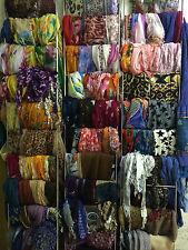 Damen Tücher Schals Loops Posten Konvolut 20 Stück bunt gemischt NEU