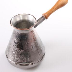 ARMENIAN TURKISH COFFEE POT MAKER CEZVE IBRIK Jezve Turka 23.7 fl oz 700 ml SALE