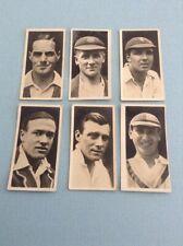 1928 Major Drapkin Australian And English Test Cricketers Six English V