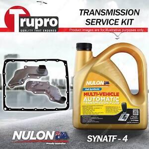 SYNATF Transmission Oil + Filter Kit for Nissan D21 D22 Pathfinder WD21 WX R50