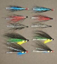 set of 10x needle tube flies for sea trout/salmon