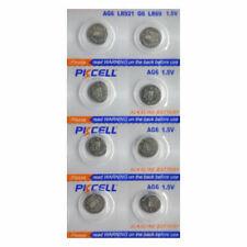 8 Piles Bouton Pkcell AG6, LR920, 171, 370, 371, 371A, SR927, L921, LR69 - Pile