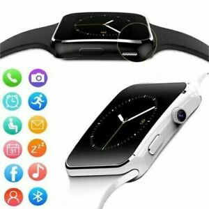Smart Watch X6 Waterproof Blood Pressure Heart Rate Alarm Fitness Wristband