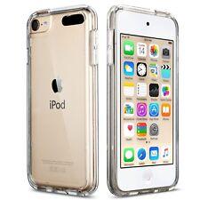 iPod Touch 5 Case  iPod 6 Case ULAK [CLEAR SLIM] Soft TPU Bumper PC Back Hybr...