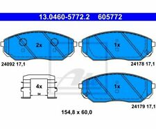 ATE Bremsbeläge Belagsatz Bremsklotz  Vorderachse  Kia 13.0460-5772  ATE 13.046