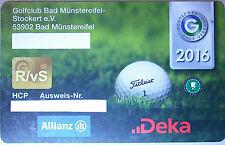 DGV Golf Mitgliedschaft 2019 in Golf Bad Münstereifel - 20 Minuten von Köln Bonn