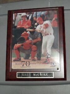 Mark McGwire Plaque with 8 x 10