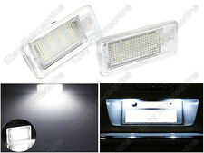 2 Bulbs Super White LED License Plate Lights For AUDI A6 C6 S6 RS6 2005-2009