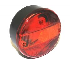 Round Hamburger Rear Tail Light Lamp Trailer - Truck - Lorry