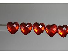 / Pretty Children Button Set-Red Faceted Heart-probably from 2010
