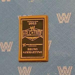 WWE wrestling figure accessory HALL OF FAME PLAQUE mattel or jakks