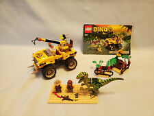 LEGO Dino #5884 Raptor Chase - Complete, Minifigures, Instructions, 2012
