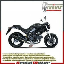 Terminali Scarichi MIVV Suono Nero Acciaio inox Ducati Monster 695 2006 > 2008