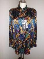 Versace Versus Baroque Shirt Silk size 46
