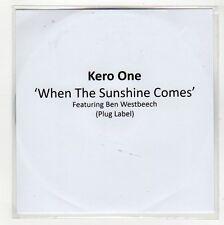 (GG123) Kero One, When The Sunshine Comes ft Ben Westbeech - 2009 DJ CD