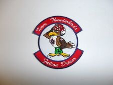 b2332 USAF Thunderbirds  Demonstration Team Air Force Falcon Driver Pilot IR19D