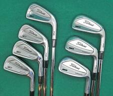 Excellent  TITLEIST 716 CB Forged irons 3 to 9 iron  DGS300 Stiff   MGS015