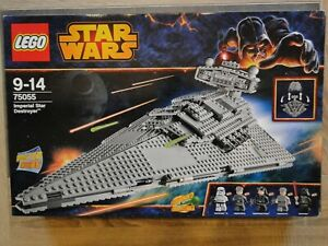 lego star wars 75055 destroyer complet boite/ notices/ figurines/ poster