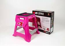 Staffelei Moto Cross Enduro Rtech R15 Werke Pink Neon Hot Pink Mx Bike Stand