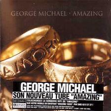 CD single George MICHAELAmazing 2-track CARD SLEEVE French sticker NEW SEALED
