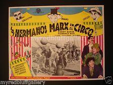 Marx Brothers At the Circus 1939 MGM  Al Hirschfeld Art
