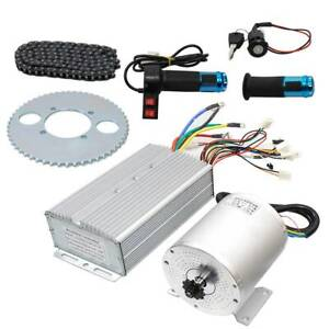 Electric Brushless DC Motor Kit 72V 3000W High Speed Motor Controller Scooters