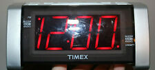 Timex T235Y White Alarm Clock