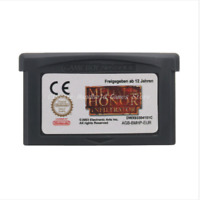 Nintendo GBA Video Game Console Card Cartridge Medal of Honor Infiltrator