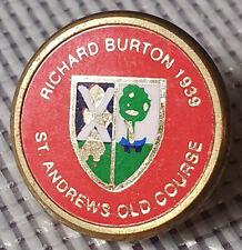 New listing Rare 1939 The Open Golf Ball Marker St Andrews (Richard Burton of England)