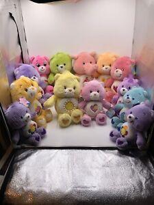 2002-2004 Care Bears Huge Lot Plush 13 Bears